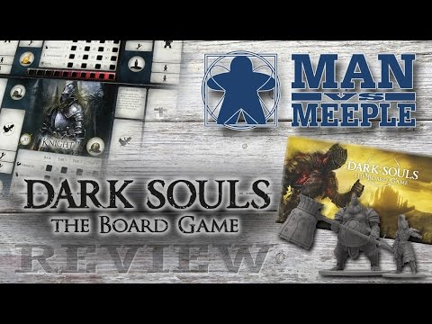Dark Souls: The Board Game (Steamforged Games) Review by Man Vs Meeple