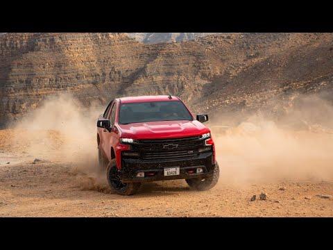 شفروليه سيلفرادو ترايل بوس يتحدى جبل جيس Chevrolet Silverado Trail Boss Jebel Jais Challenge