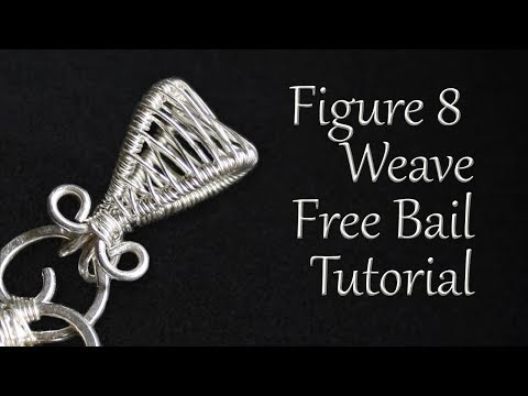 Easy Wire Weave Bail Tutorial - How To Make A Detachable Bail For Beginners