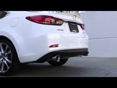 Tanabe Medalion Touring Exhaust for 2014 Mazda 6 (Part# T70173A)