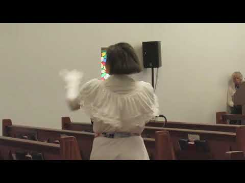 """Solo Liturgical Dance by Brianna Jackson of Our Wings of Praise"""