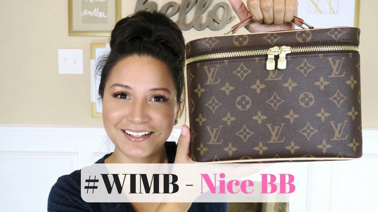 c707de2bda6b WHAT S IN MY BAG - Louis Vuitton Nice BB and Travel Essentials ...