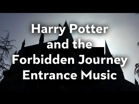 Harry Potter and the Forbidden Journey - Entrance Audio - Universal Studios Hollywood
