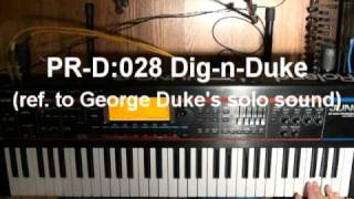 Roland Juno-G SYNTH demos (part 1 of 2)