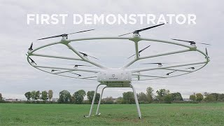 VoloDrone heavy-lift utility drone demonstrator ta...