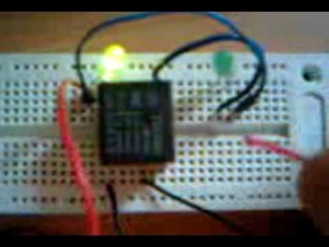 5 pins relay testing - YouTube