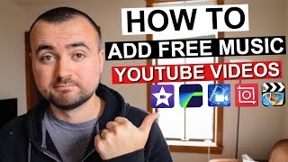 How To Add Music To Your YouTube Videos 2020 | iPhone and Android