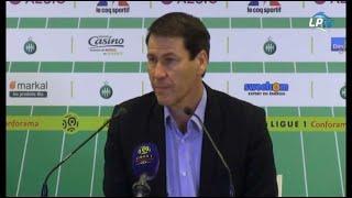 St Etienne 2-1 OM : la réaction de Garcia