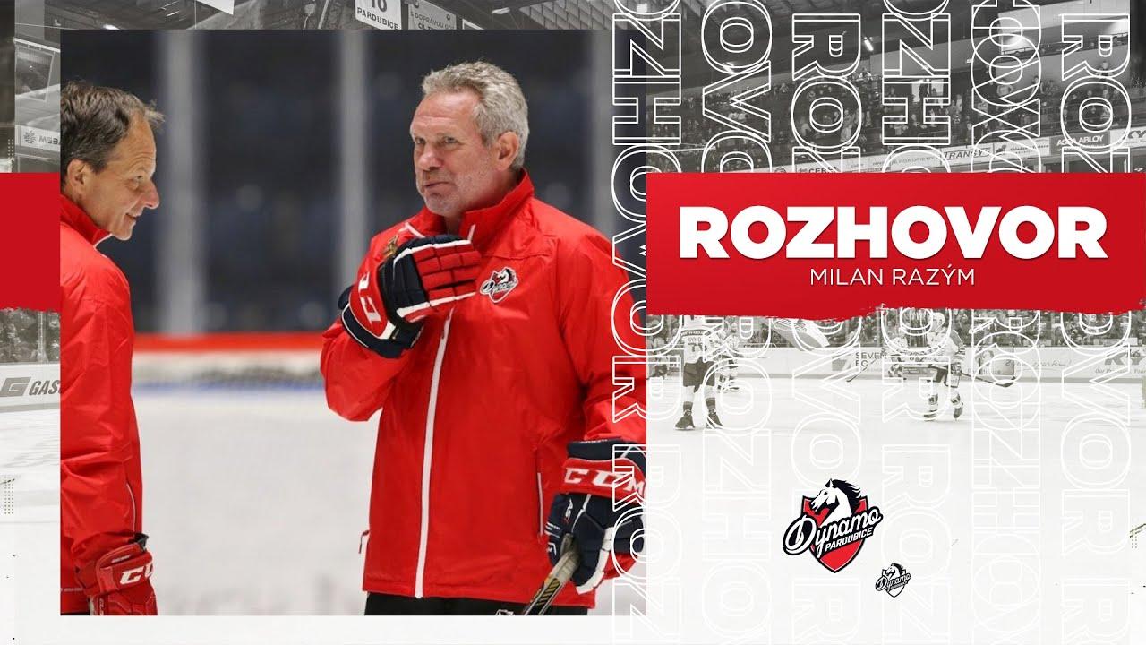 Hráči HC Dynamo Pardubice vyjeli poprvé na led