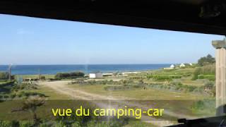 Parking pour camping car de Plouhinec Finistère