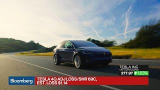 Tesla Posts Narrower Loss Than Estimated
