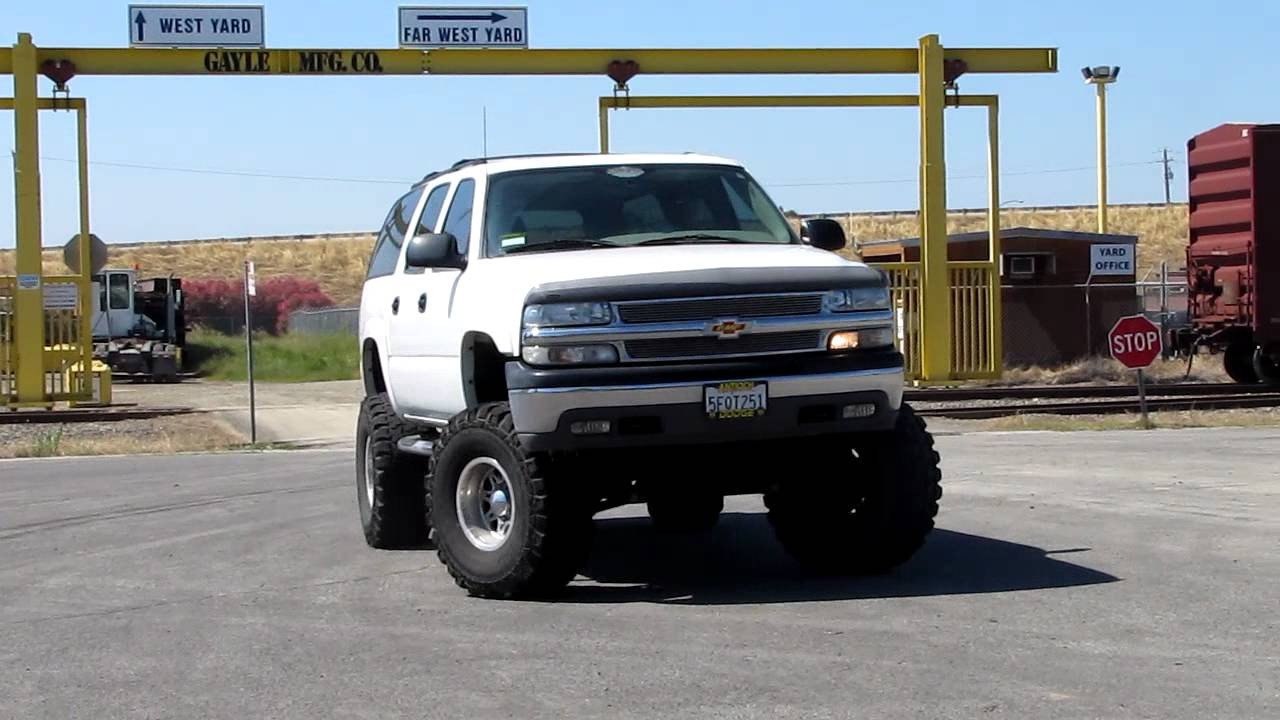 2004 Chevrolet Suburban 2500 4x4 Youtube