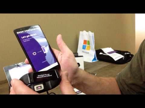 Pairing the Microsoft Band to Apps