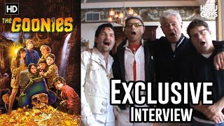 The Goonies - Sean Astin, Corey Feldman, Richard Donner & Joe Pantoliano Exclusive Interview