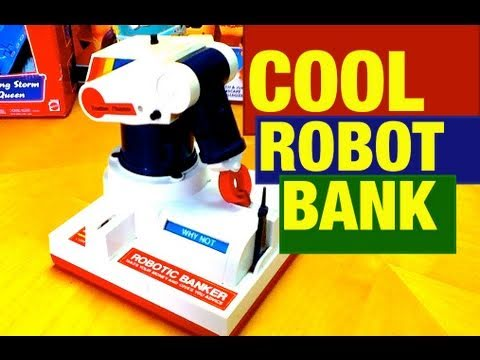6454490099538 COOL Robotic Banker and Advice Toy Review by Mike Mozart TheToyChannel