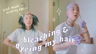 Download impulsively bleaching & dyeing my hair lol Mp3 and Videos