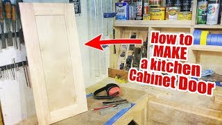 How To Make a Cabinet Door... Again