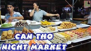 Vietnam Travel Can Tho Street Food Night Market   Cho Dem Ninh Kieu Can Tho