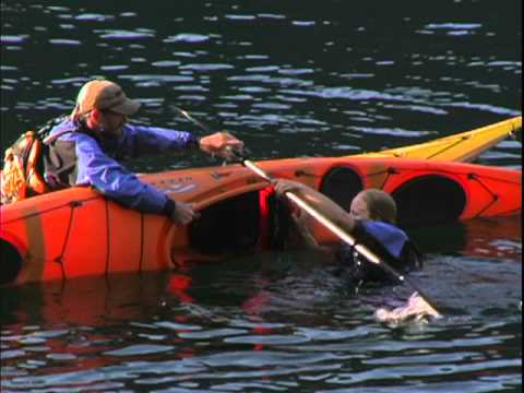 Re-entering a Sit-Inside Kayak - Part 2