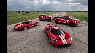 Hennessey Ford Heritage Squad Formation