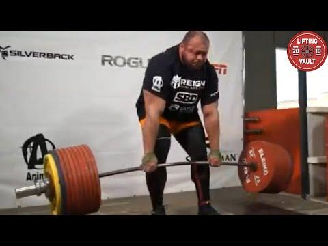 Ivan Makarov 502 kg Deadlift World Record Attempt