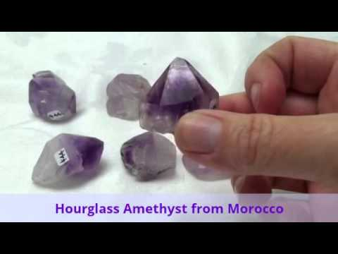 Rare Hourglass Amethyst from Morocco!