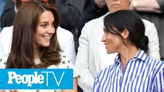 Meghan Markle & Kate Middleton Are 'Not The Best Of Friends' But 'Got On' Last Christmas | PeopleTV