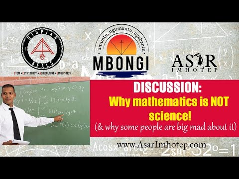 Why Math is NOT Science! A discussion