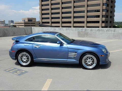 Ultra Rare 2006 Chrysler Crossfire Srt 6 1 Of 47 Supercharged Amg