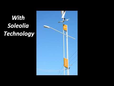 Signature Solar/Wind Street Light.wmv