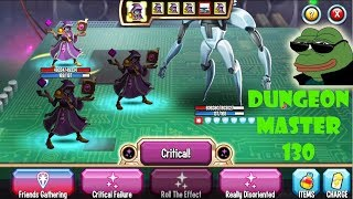 Monster Legends : Dungeon-Master level 130 combat review