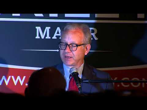 Mayor David Briley Gives His Victory Speech