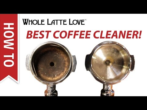 Quick Tip: Our Favorite Cleaner for Coffee Equipment