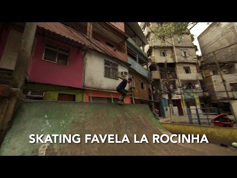 Skating Favela La Rocinha