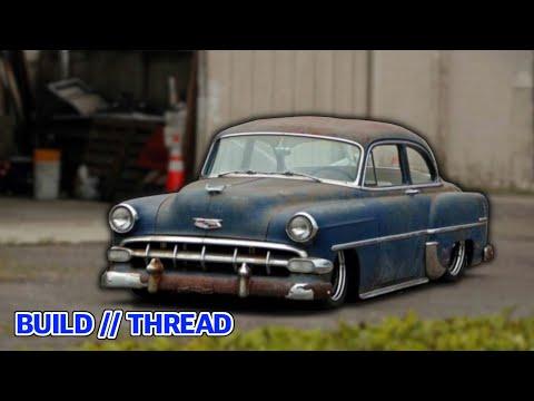 The Sickest Bagged 1952 Bel Air Build (2019)