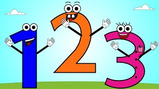 Numbers Song 5 | Counting 1-10 Song For Children