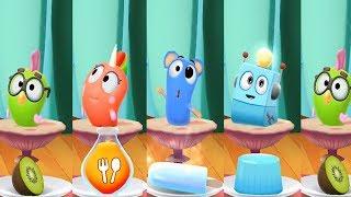 My Talking Tom 2 Learn Colors Sugar vs Dot vsGus  vs Squeak vs Flip