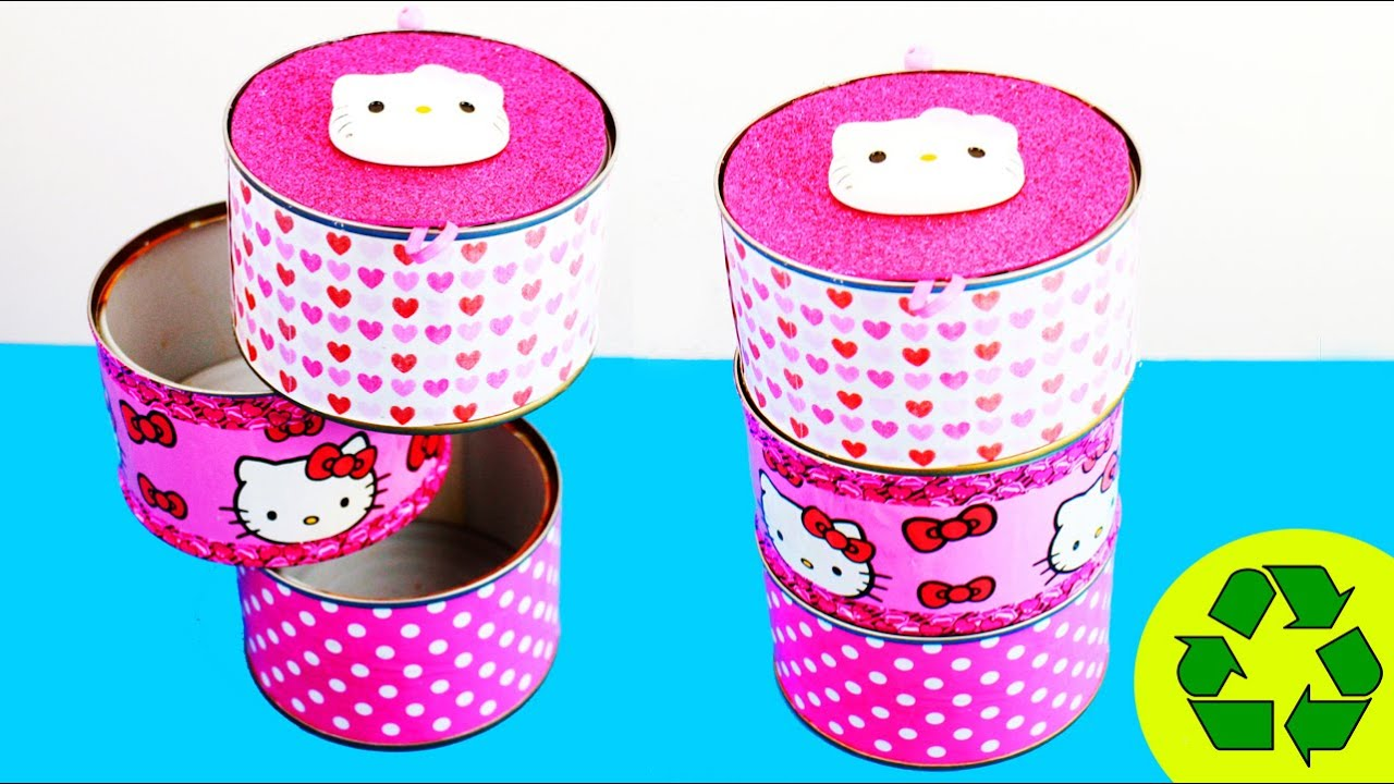back to school crafts hello kitty desk organizer youtube