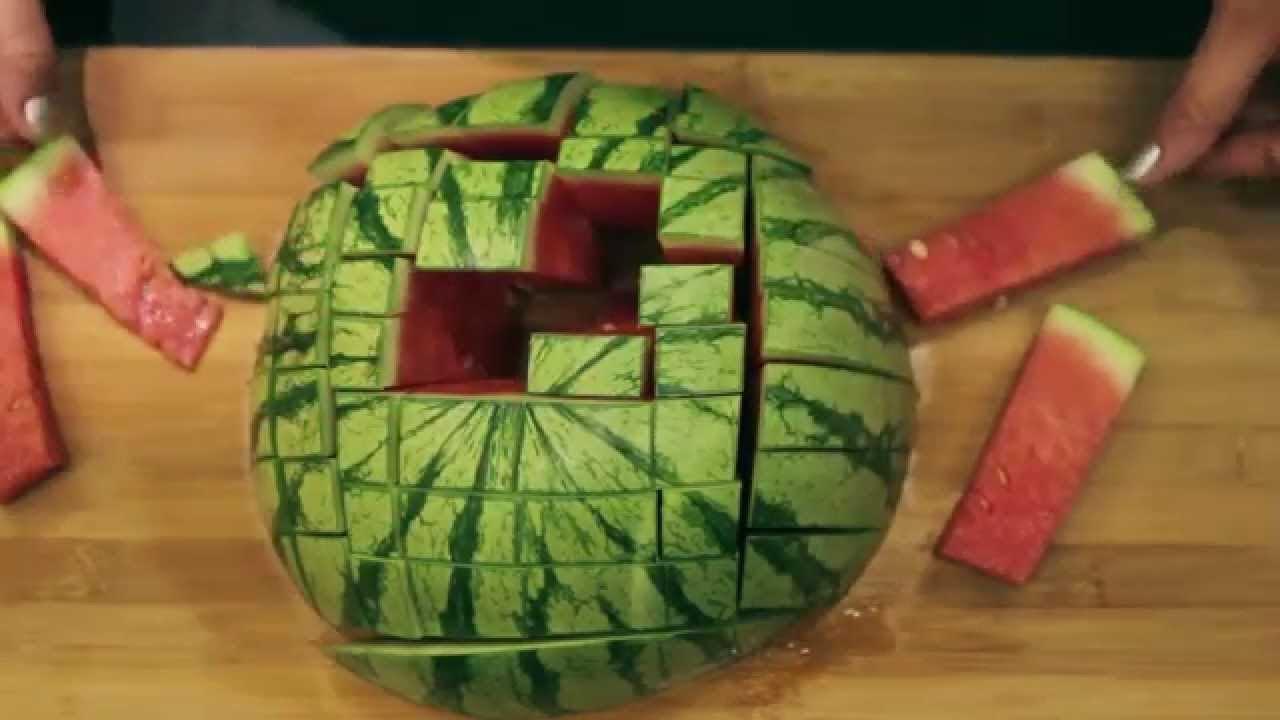 Wassermelone schneiden youtube - Honigmelone dekorativ schneiden ...