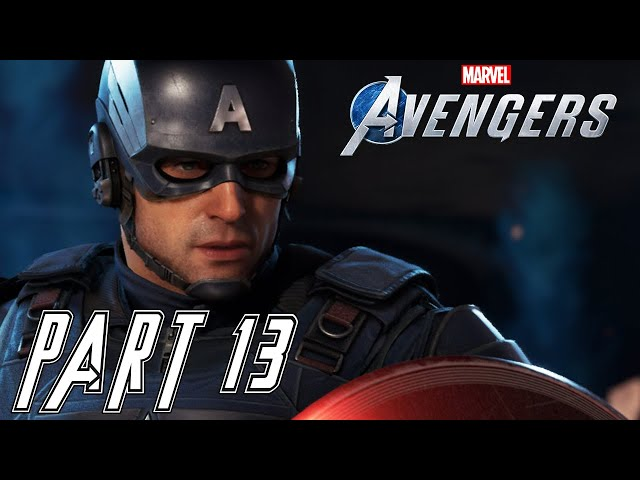 MARVEL'S AVENGERS  - Part 13 - Captain America [PC Ultrawide Gameplay] - No Commentary