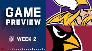 Minnesota Vikings vs. Arizona Cardinals   Week 2 NFL Game Preview