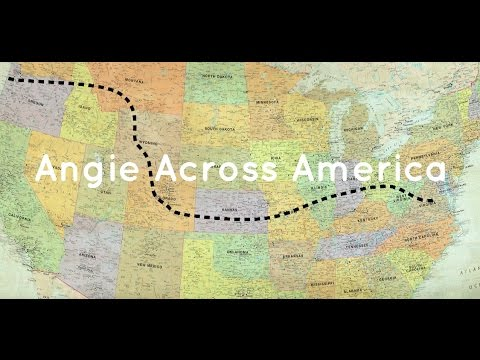 ANGIE ACROSS AMERICA: OFFICIAL DOCUMENTARY
