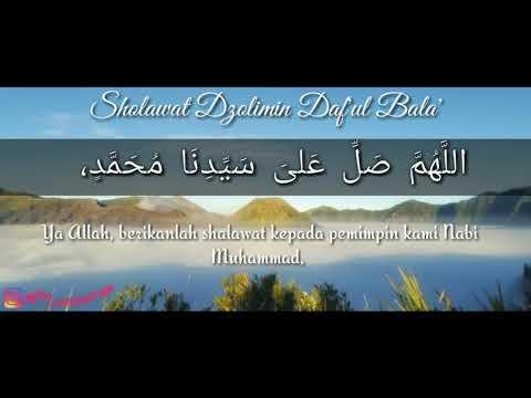 Sholawat Dzolimin Daf Ul Bala