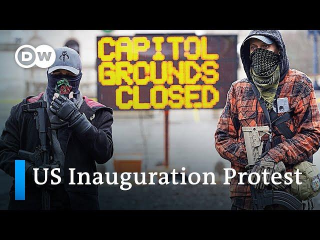 US: Tense calm ahead of Joe Biden's presidential inauguration   DW News
