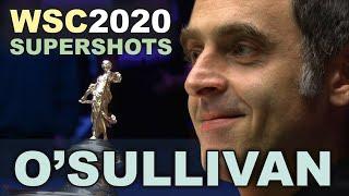 Ronnie O'Sullivan Super Shots Compilation | World Championship 2020