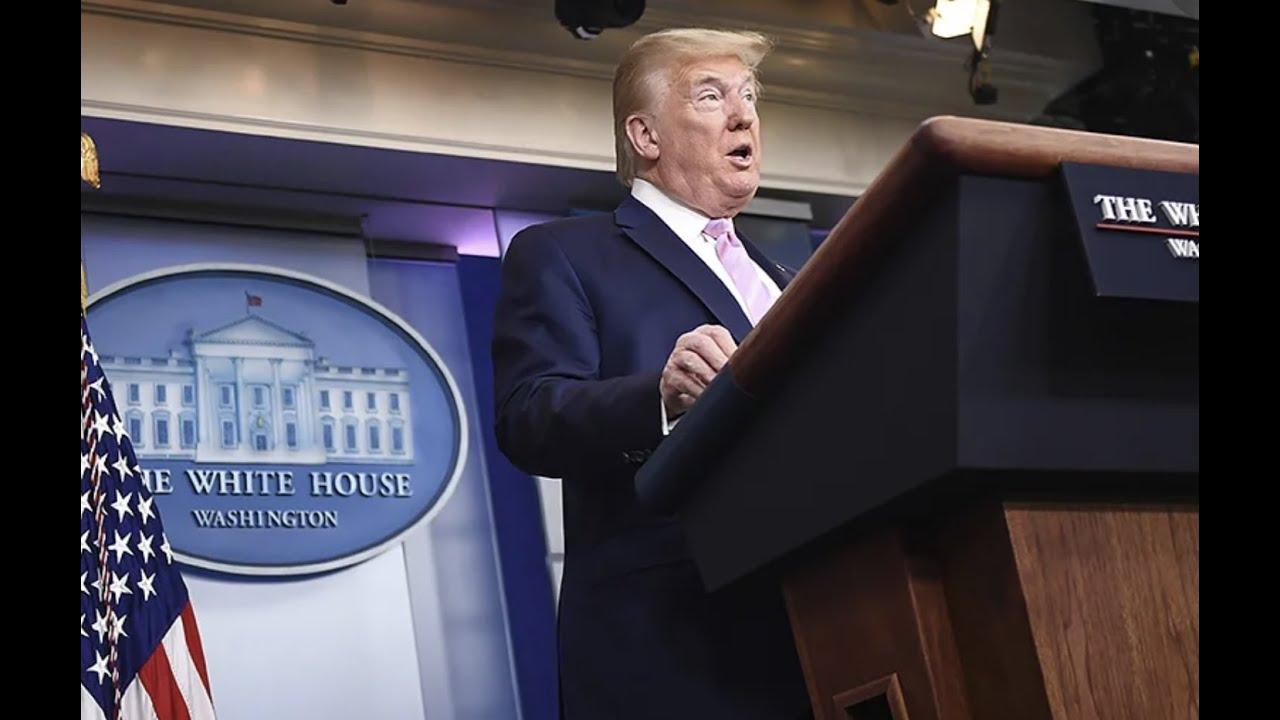 WATCH: President Trump's full Coronavirus briefing