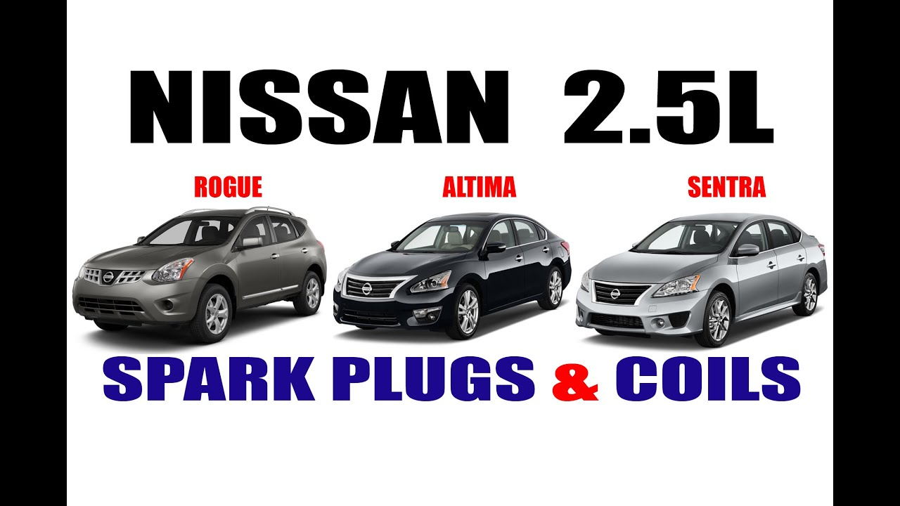 NISSAN SPARK PLUG REPLACEMENT - YouTube