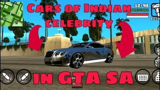 😍 GTA SA Indian celebrity cars Mods By GRG gaming (25 MB)