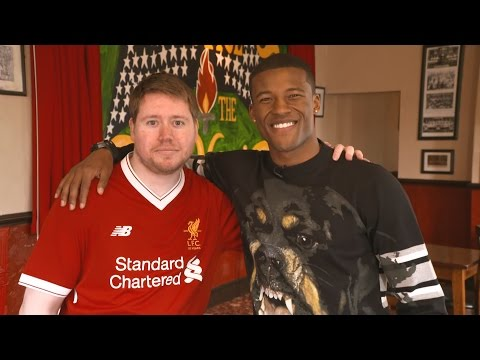 Gini Wijnaldum surprises LFC fan at the pub | Pure Liverpool FC