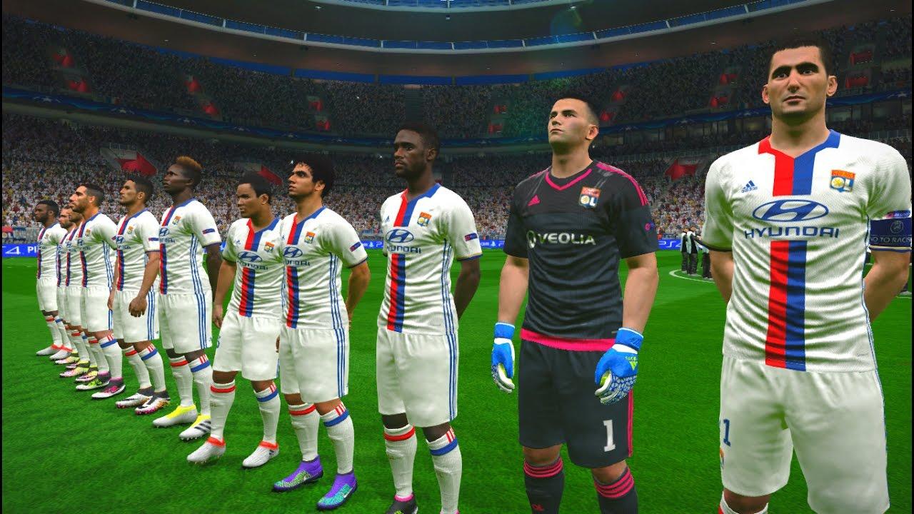 Olympique Lyonnais Vs Juventus UEFA Champions League